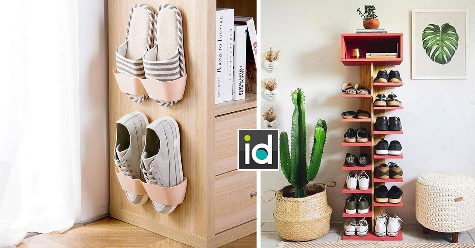 idées astucieuses pour ranger les chaussures à la maison