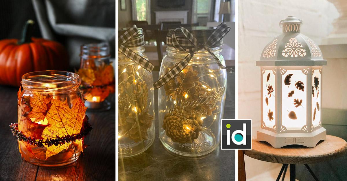 Une belle lanterne pour éclairer l'automne