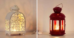 Bougies et lanternes IKEA 2020.