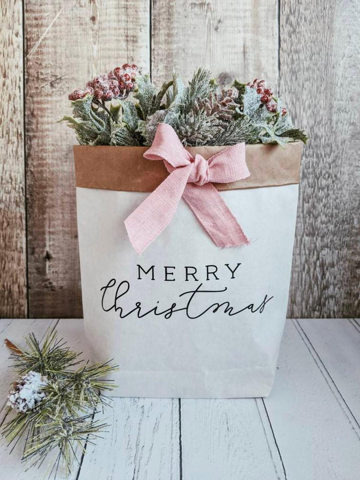 Cache-pot Noël original