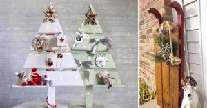 Déco Noël DIY en bois de palette