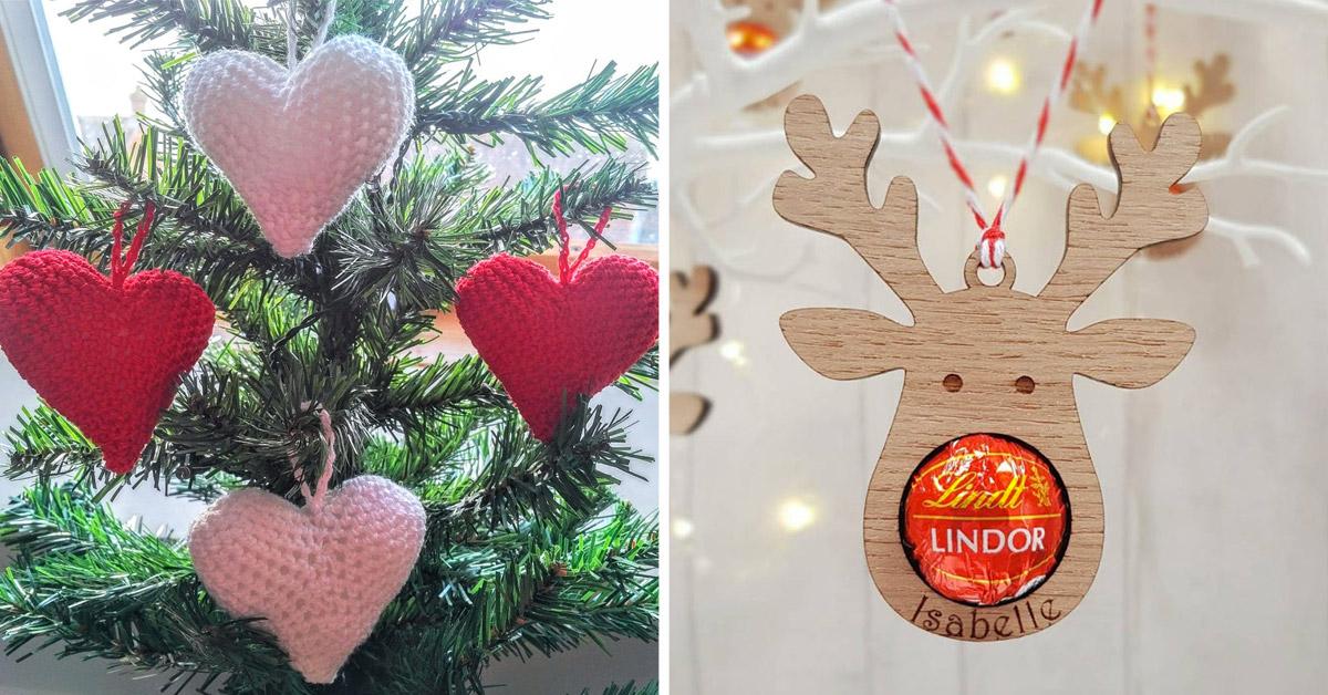 alternatives aux boules traditionnelles de Noël