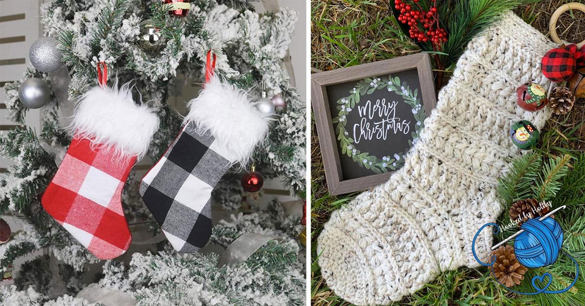 chaussettes de Noël DIY