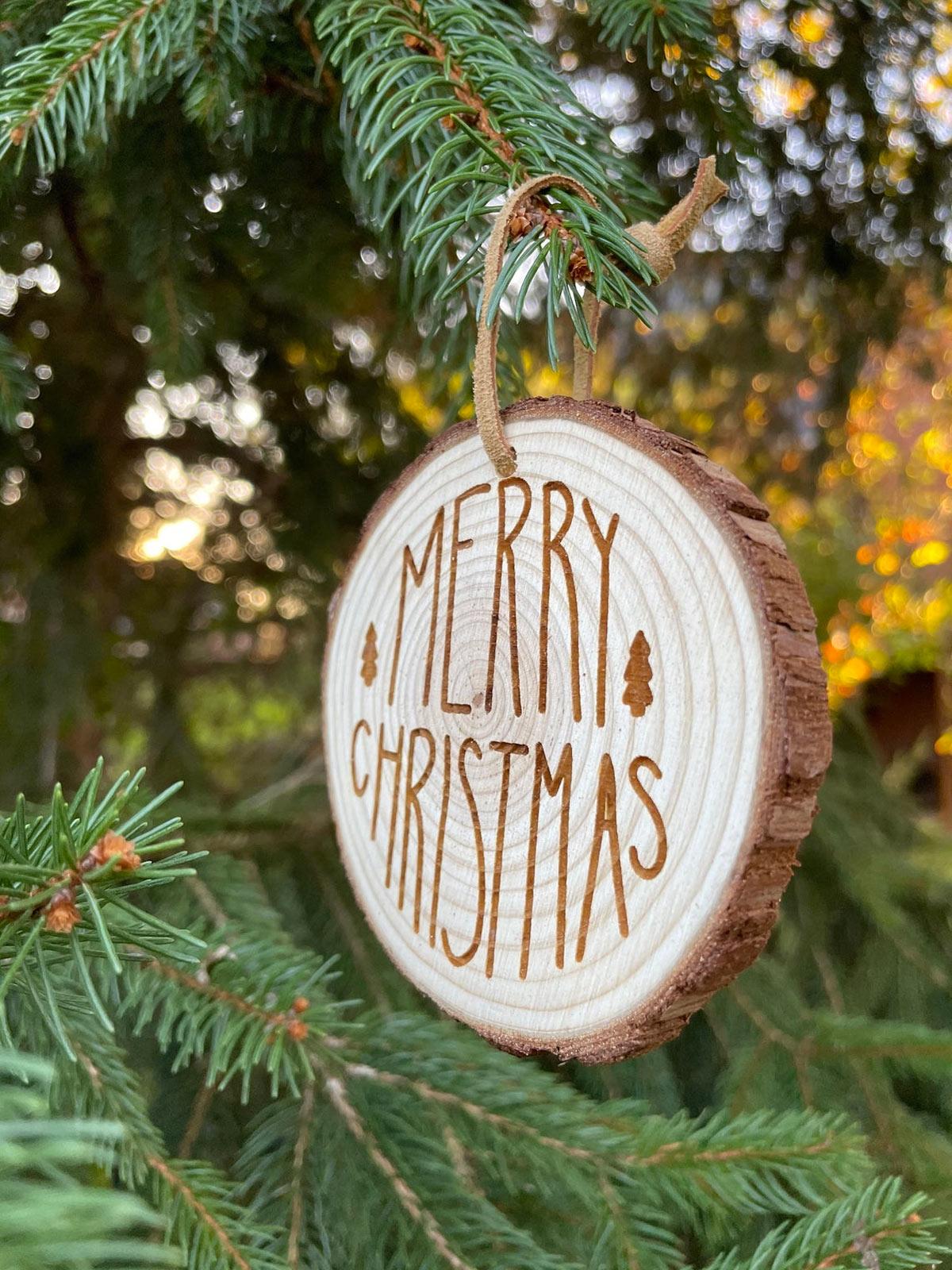 Déco Noël en bois