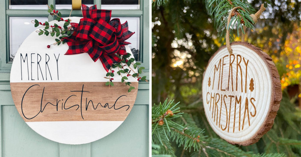 Déco Noël DIY en bois