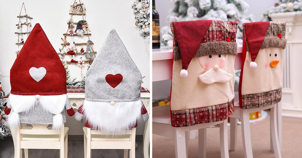 housses de chaise Noël