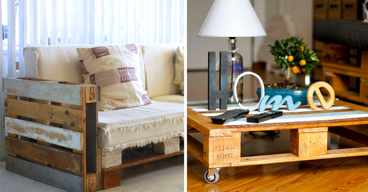 mobilier DIY avec des palettes de bois