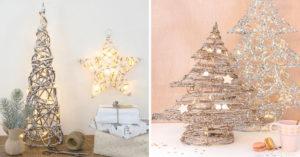 Sapins de Noël originaux Maisons du monde.