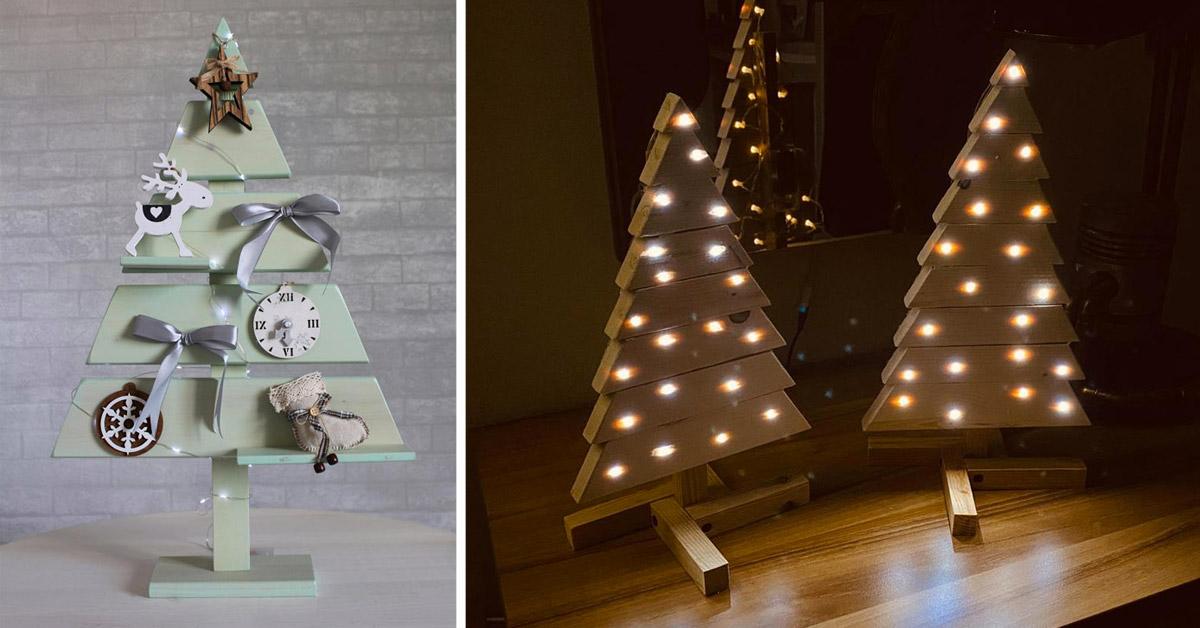 Réaliser un sapin de Noël en palette