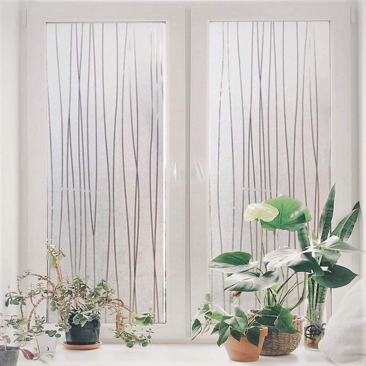 Brise vue décoratif pour fenêtre