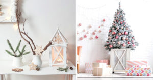 Décorations Noël style shabby