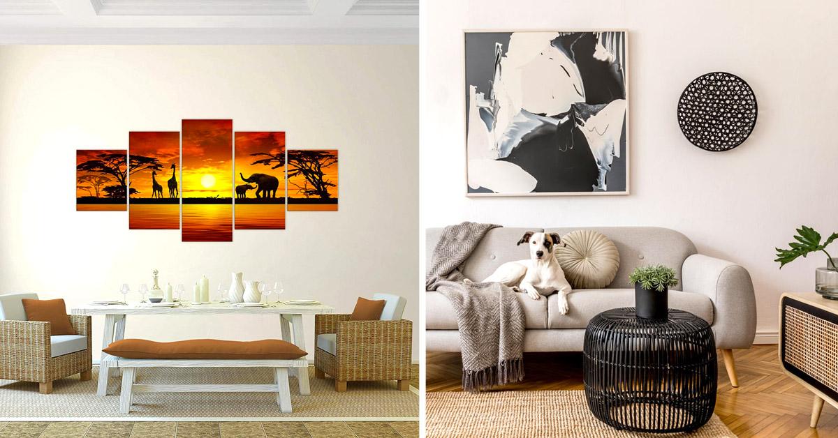 décorer vos murs avec des cadres