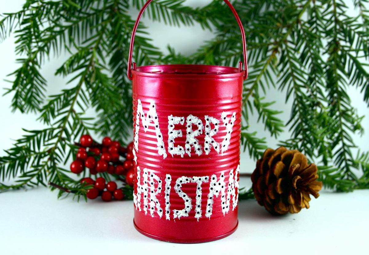 Une lanterne DIY pour Noël