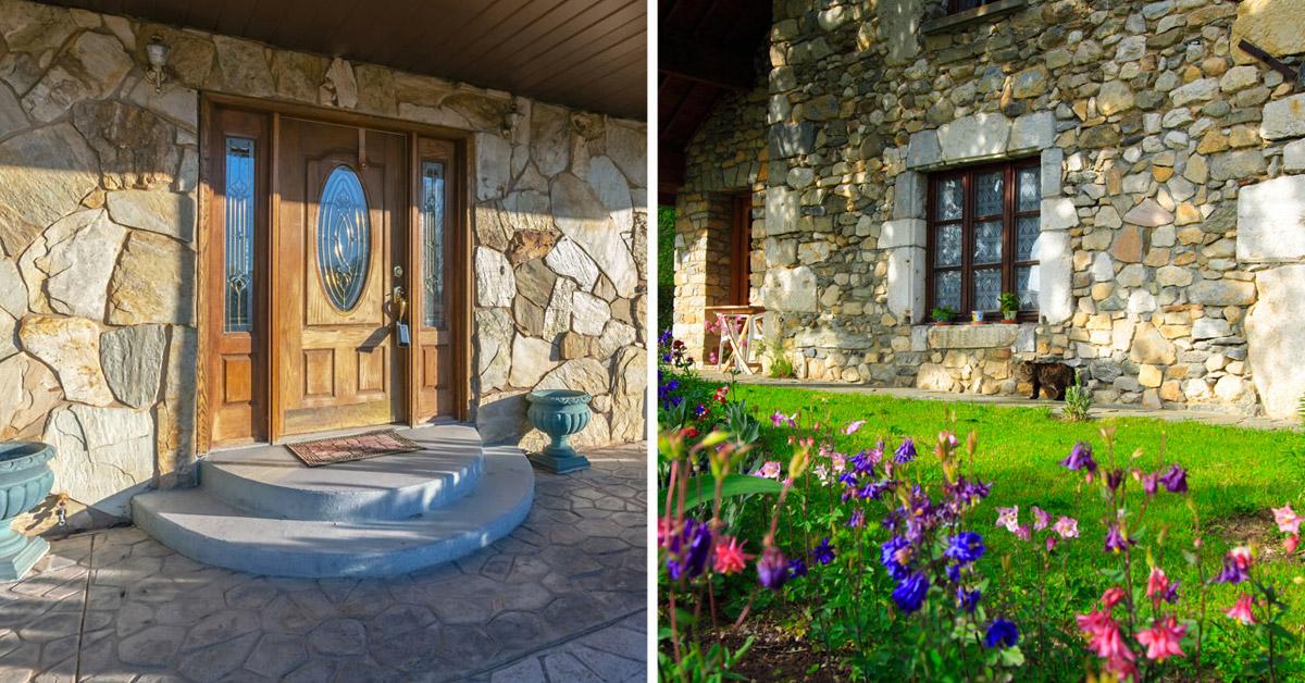 Revêtement extérieur en pierre