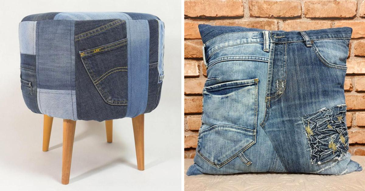 recycler ses vieux jeans