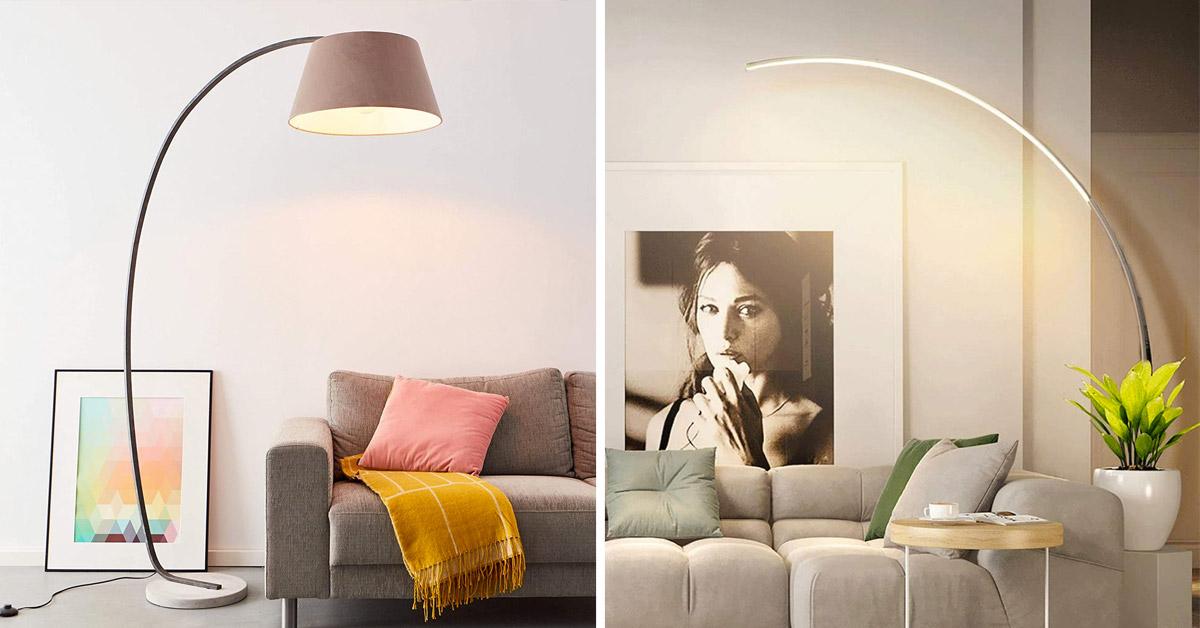 lampadaire pour un salon design