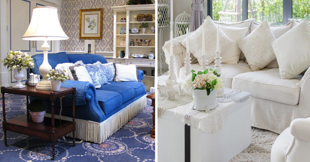 salon style country chic
