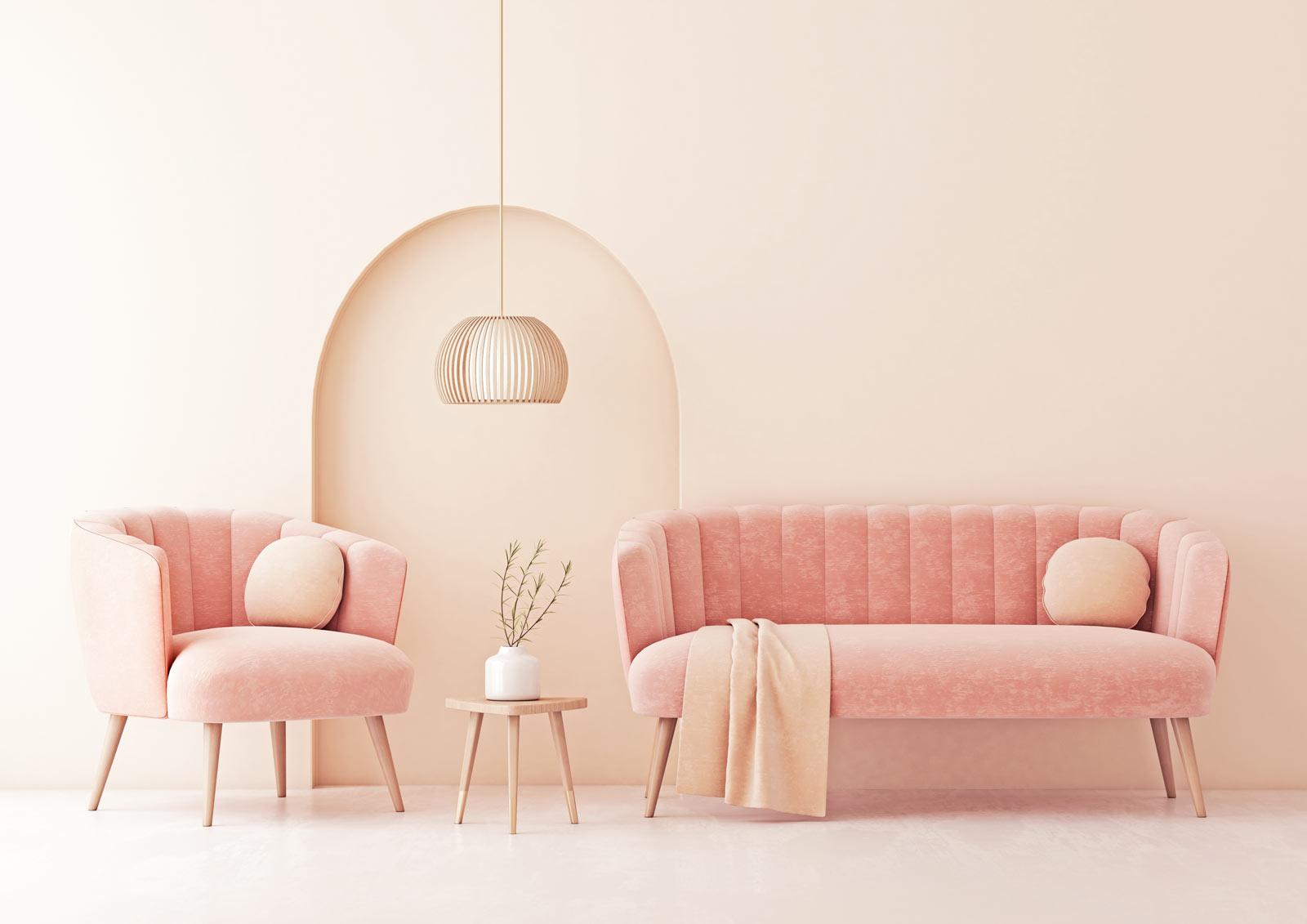 Des murs couleur pastel