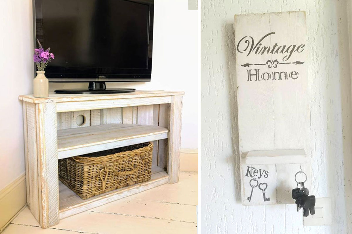 style shabby en recyclant des palettes