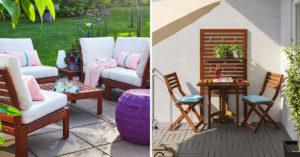 Agencer son espace extérieur avec IKEA.