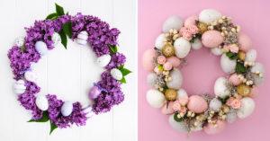 Réalisez une belle couronne de Pâques
