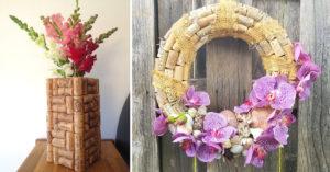 Bouchons en liège décorations DIY.