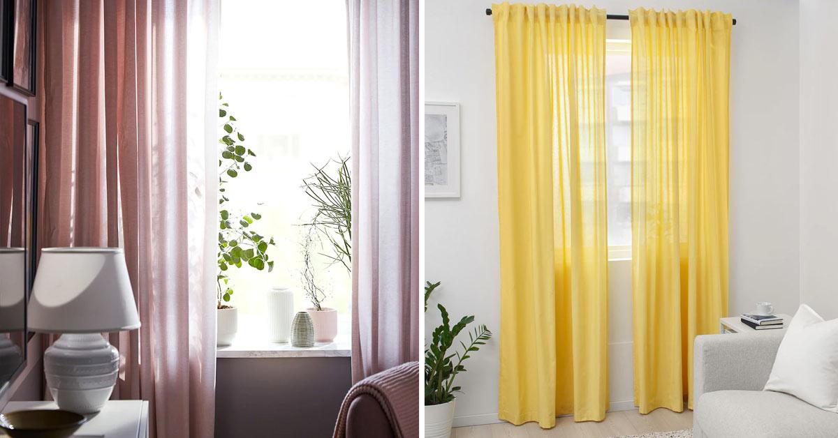 Rideaux IKEA pour un printemps en couleur