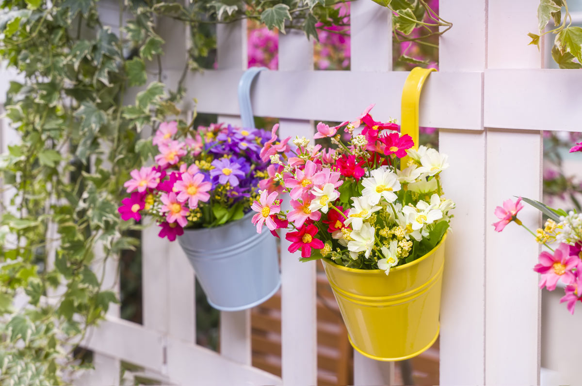 idées DIY pour décorer sa clôture