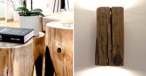 Bois décoration intérieure DIY.