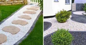 Embellir le jardin avec du gravier