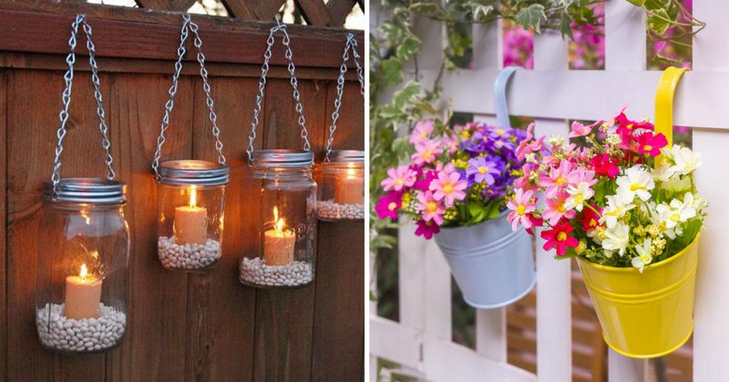 Idées DIY pour décorer sa clôture.