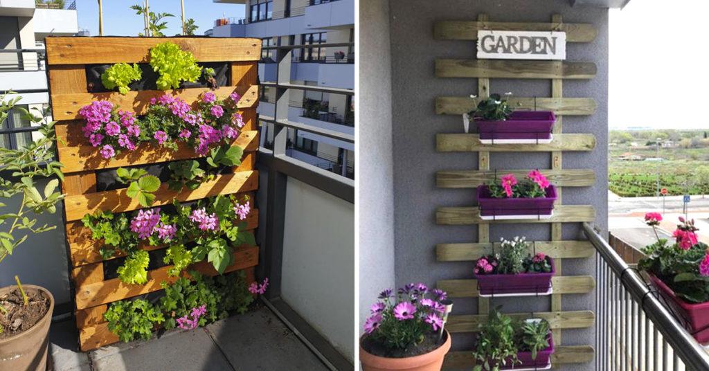 jardin vertical DIY balcon