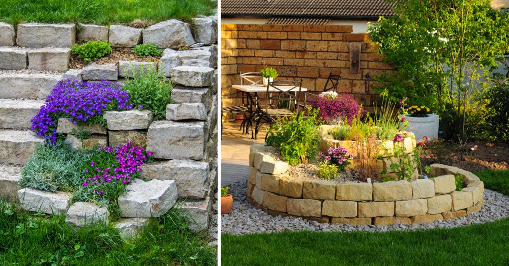 Jardin décorations.