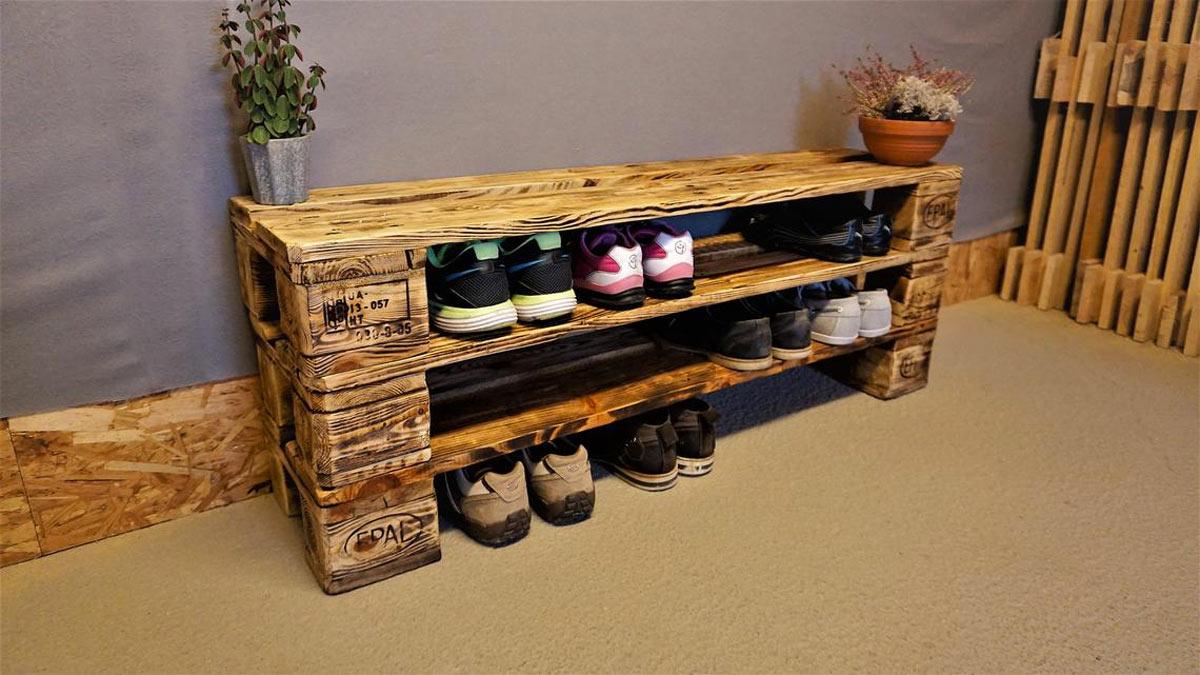 porte-chaussures DIY