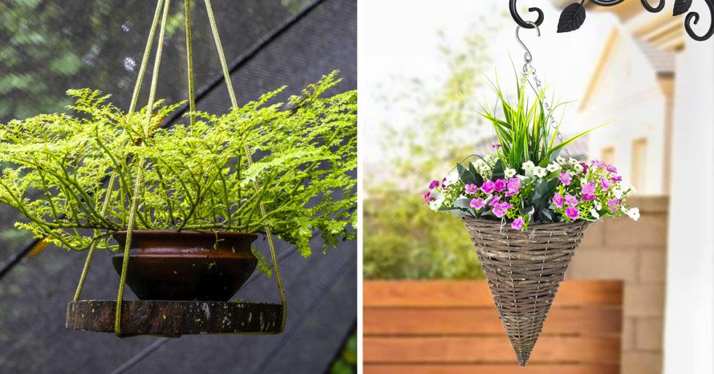 Jardinières suspendues extérieur