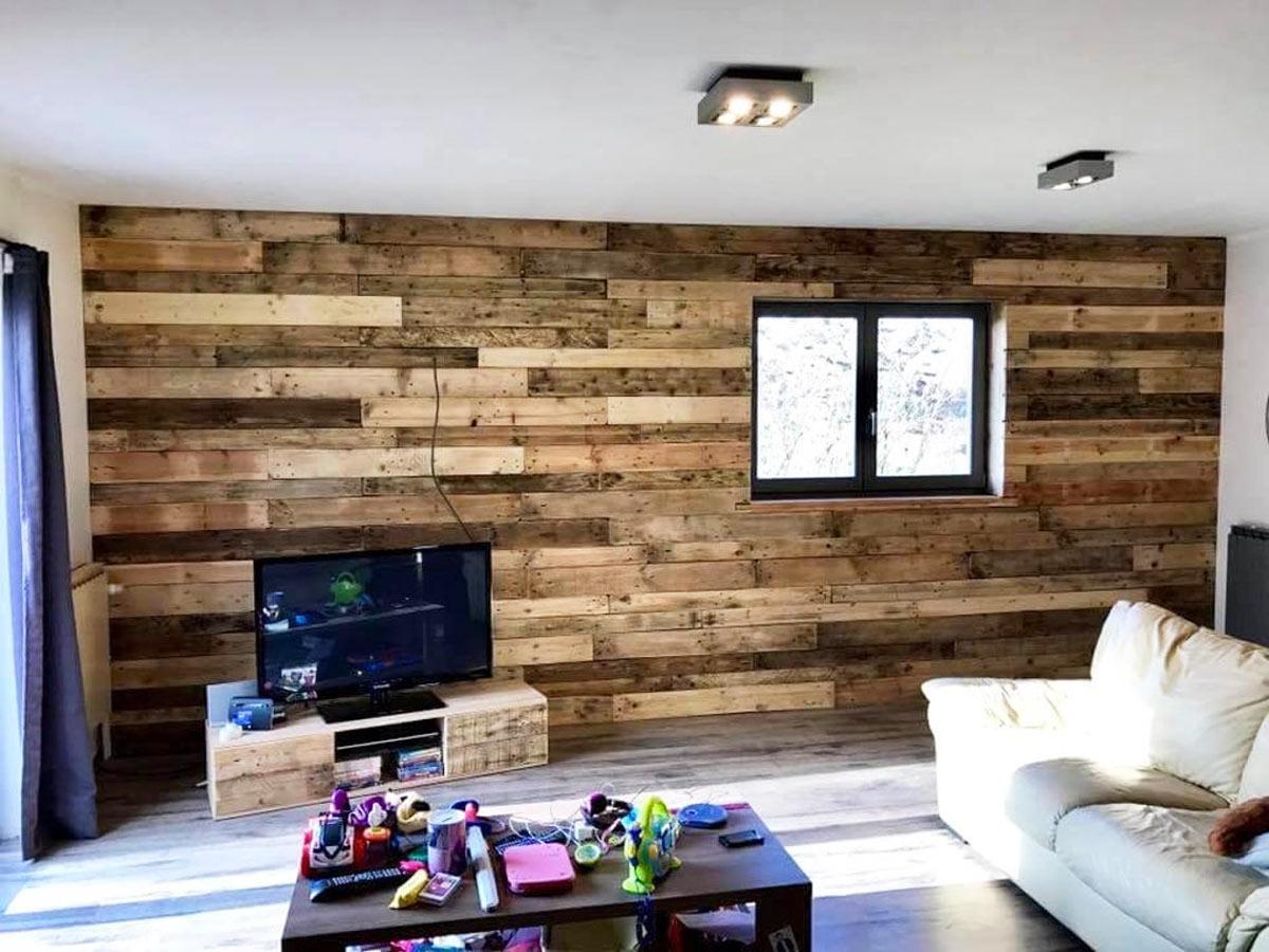 Comment réutiliser des palettes en bois.