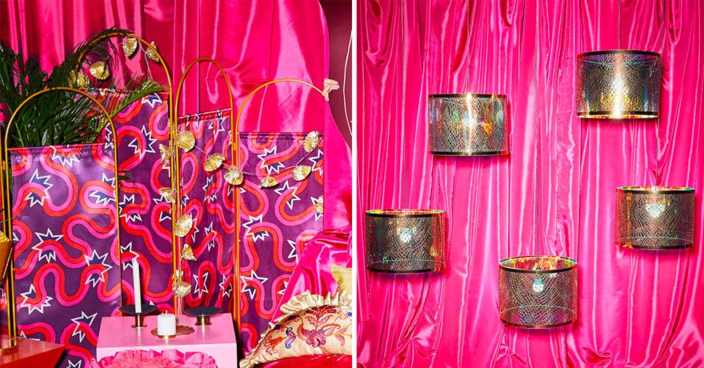 KARISMATISK collection Ikea designer Zandra Rhodes.