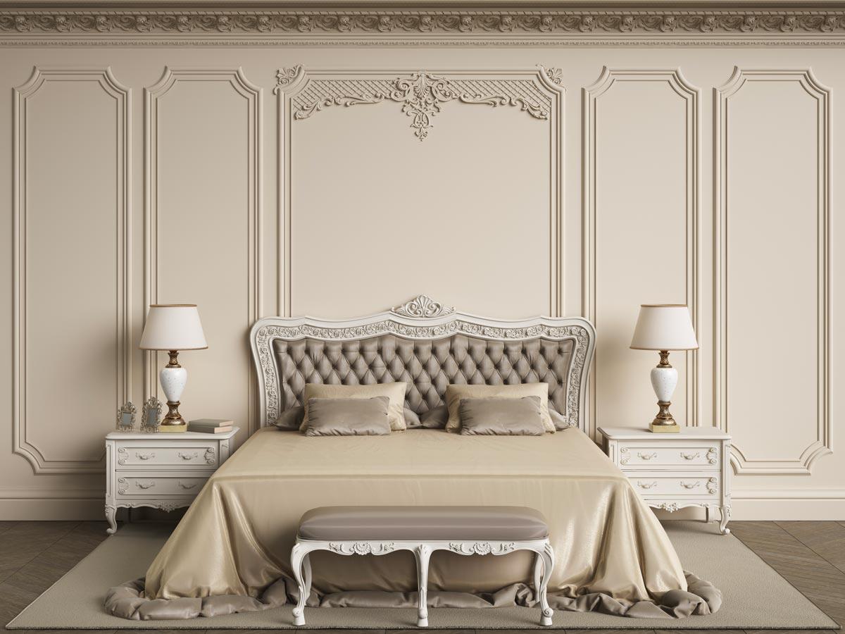 Idées chambre à coucher provençale.