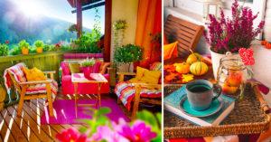 Préparer son balcon pour l'automne