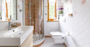 Astuces pour agrandir une petite salle de bains.