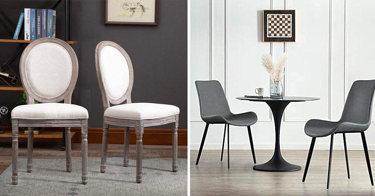 chaises stylées.