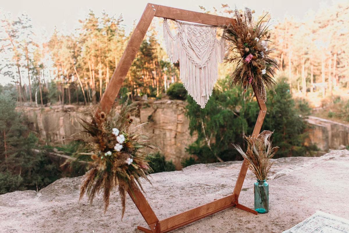 décorations shabby chic pour un mariage vraiment romantique