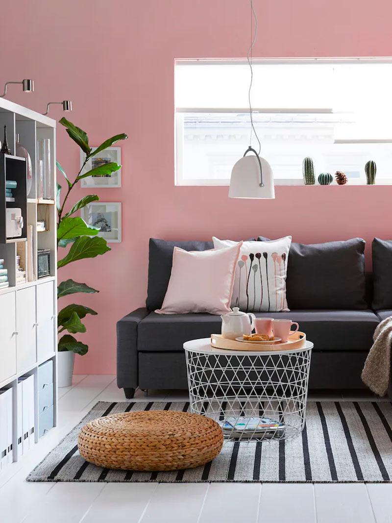 divano per arredare soggiorno con meno di 600 euro con ikea