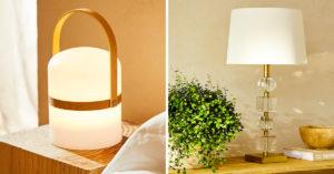 Luminaires de Zara Home.