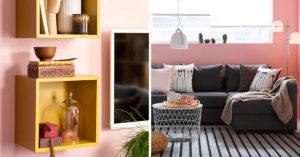 Salon pour moins de 600 euros avec Ikea.