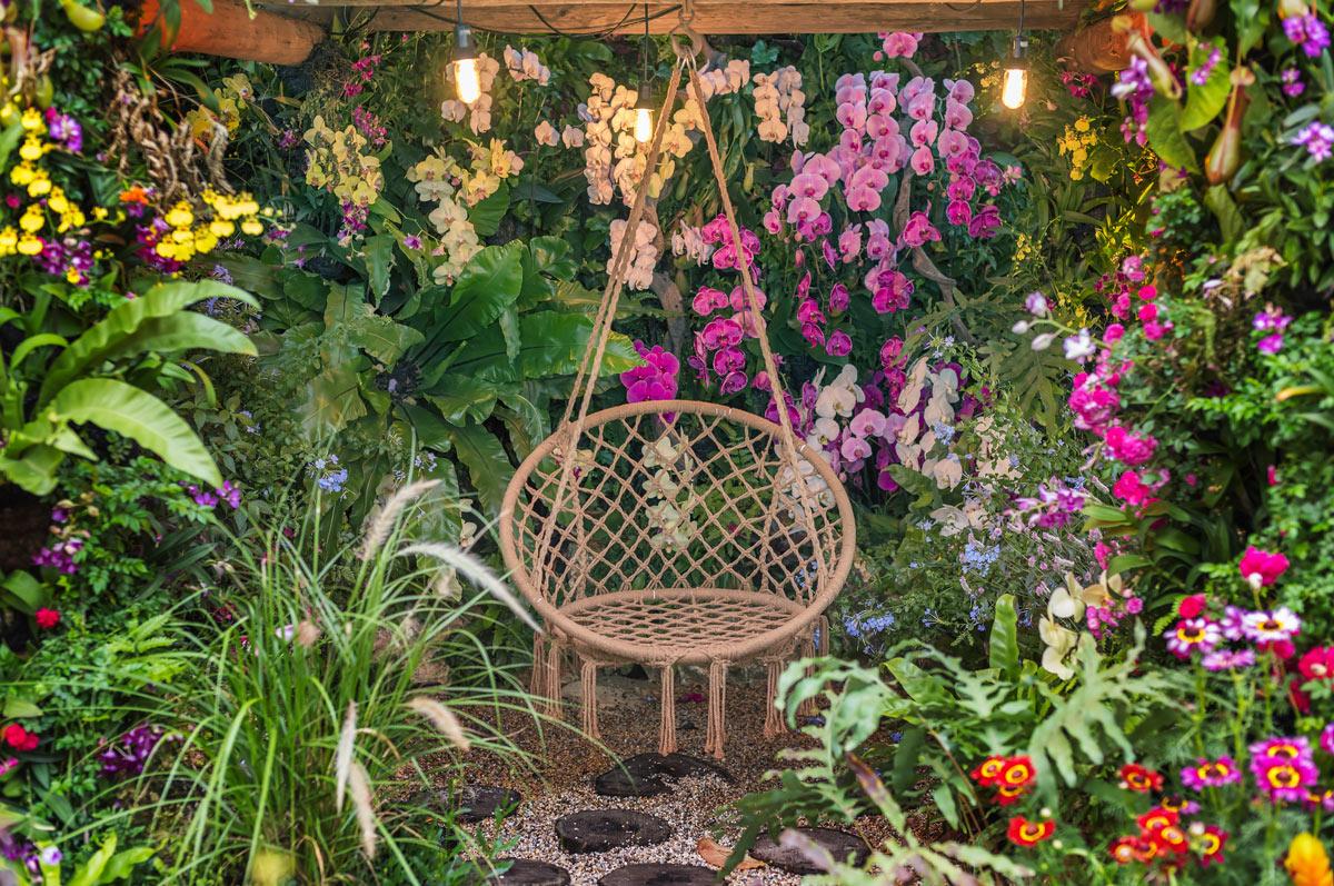 Créer un paradis de détente et de méditation à la maison.