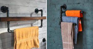 Porte-serviettes DIY