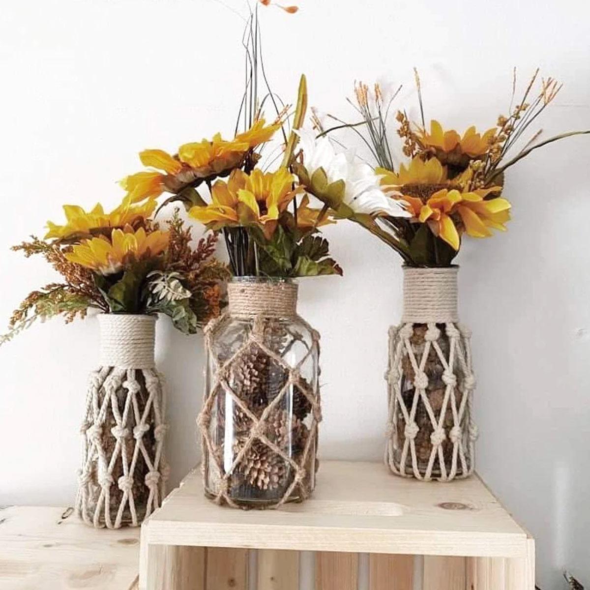 décorations DIY originales avec des pommes de pin