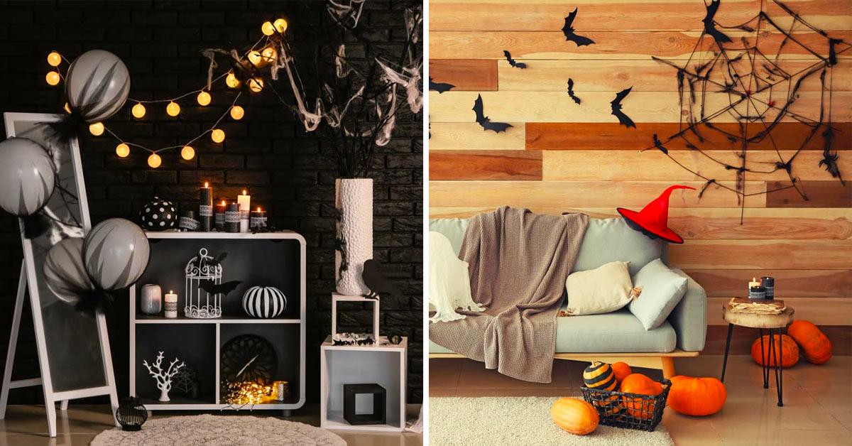 Décorations d'Halloween faciles à réaliser.