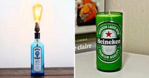 Donner une nouvelle vie aux bouteilles en verre.